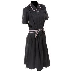 "Myrna Loy ""Lillian Gilbreth"" black house dress from Cheaper by the Dozen."