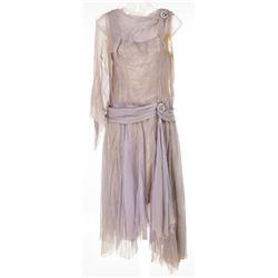 "Debbie Reynolds ""Kathy Selden"" mauve silk chiffon dress from Singin' in the Rain."