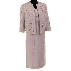 "Gene Tierney ""Iris Denver"" dress and jacket from Black Widow."