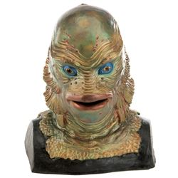 """""""Gill Man"""" bust from The Creature from the Black Lagoon."""
