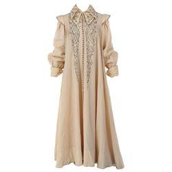 """Bette Davis """"Queen Elizabeth I"""" nightgown from The Virgin Queen."""