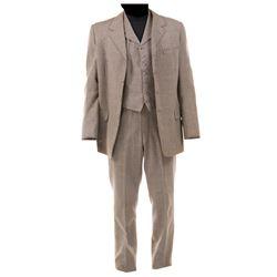 "Louis Jourdan ""Dr. Nicholas Agi"" suit from The Swan."