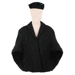 "Helen Hayes ""Empress Feodorovna"" jacket and cap from Anastasia."