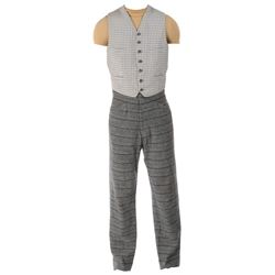"""Montgomery Clift """"John Wickliff Shawnessy"""" vest and pants from Raintree County."""