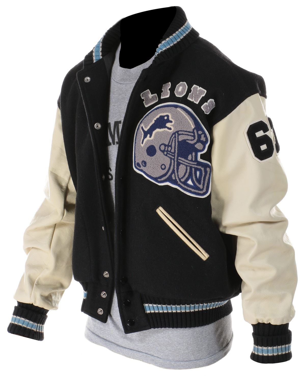 "newest collection 6b747 bcb26 Eddie Murphy ""Axel Foley"" Detroit Lions jacket with shirt from Beverly  Hills Cop."