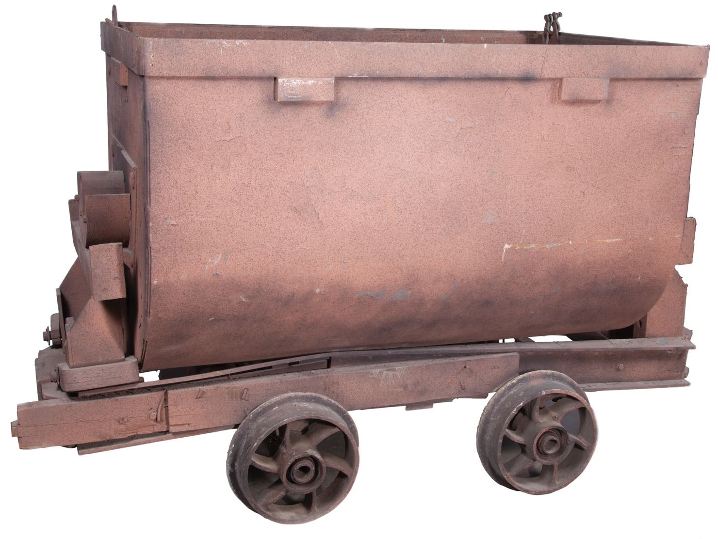 Mine car prop from Indiana Jones and the Temple of Doom