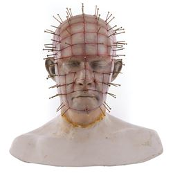 """Doug Bradley """"Pinhead"""" bust from Hellraiser: Bloodline."""