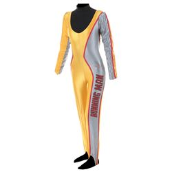 """Karen Price """"Amber Mendez"""" competition jumpsuit from The Running Man."""
