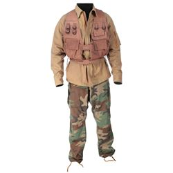 "Arnold Schwarzenegger ""Dutch"" costume from Predator."