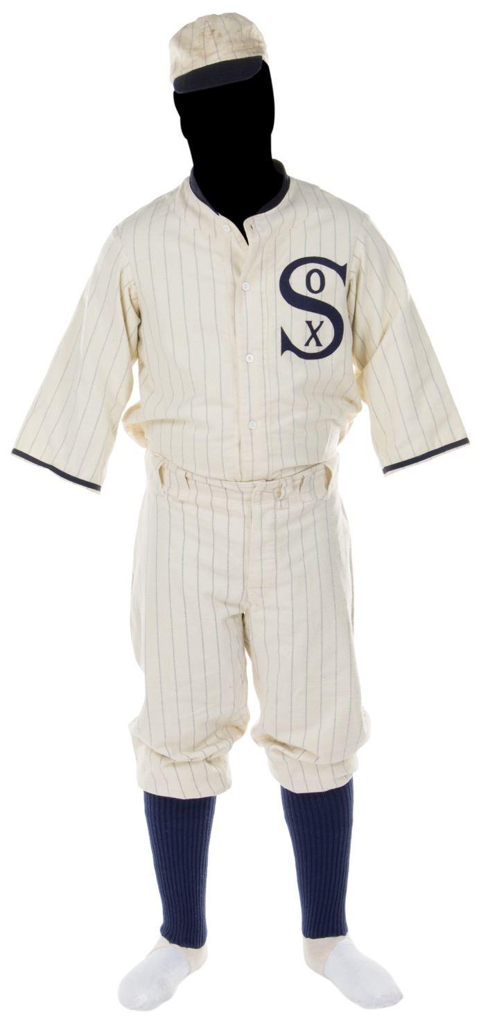 """release date: 49934 765e6 Ray Liotta """"Shoeless Joe Jackson"""" baseball uniform from Field of Dreams."""