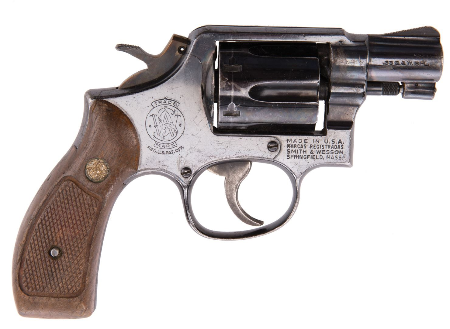 "Robert De Niro ""James Conway"" Smith & Wesson Model 36 snub nose revolver  from Goodfellas"