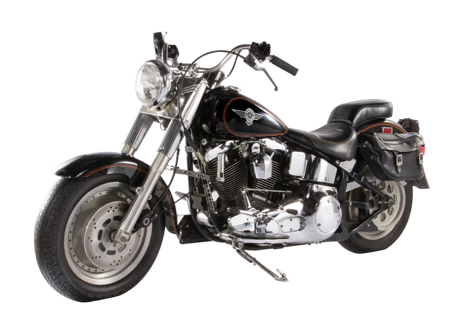 "Arnold Schwarzenegger ""Terminator"" screen-used 1991 Harley-Davidson Fat Boy  motorcycle from T2"