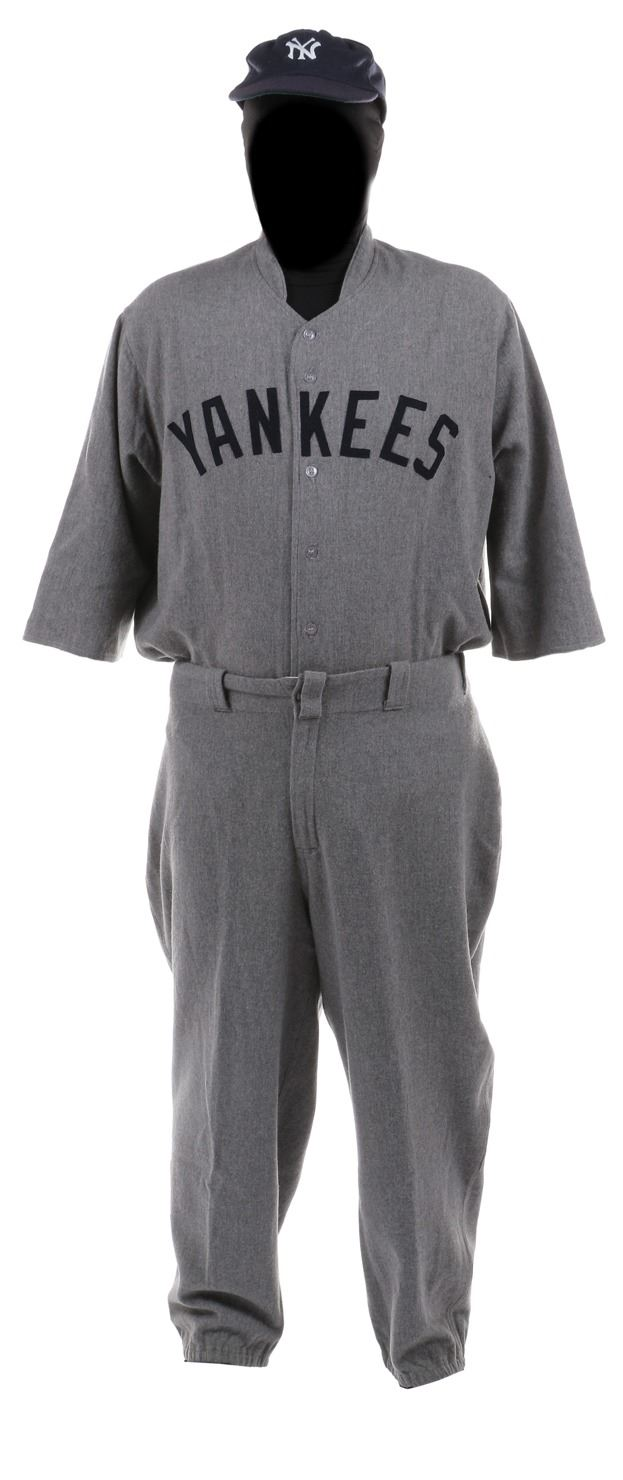"finest selection bf7ac f3505 John Goodman ""Babe Ruth"" baseball uniform from The Babe."