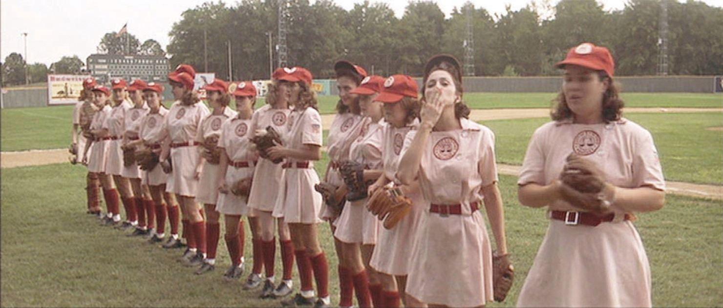 "813910a0 ... Image 2 : ""Rockford Peaches"" women's team baseball uniform from A League  of Their"