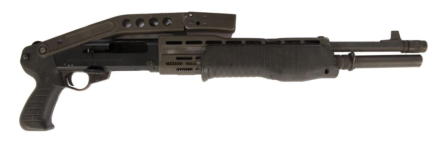 SPAS shotgun prop from Jurassic Park