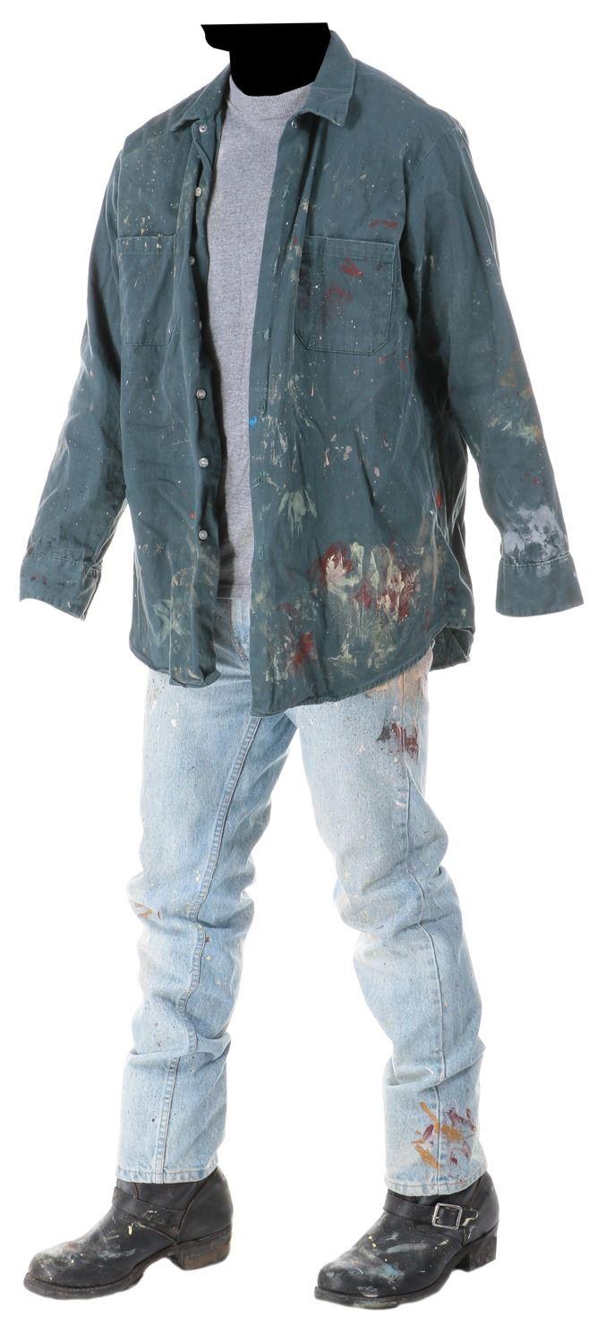 "d6684b15 Image 1 : Jon Bon Jovi ""The Painter"" costume from Moonlight and Valentino."