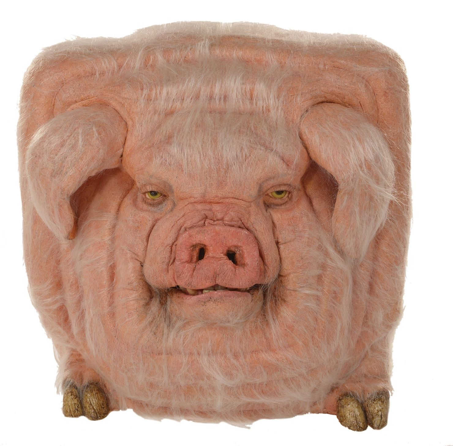 Square pig from Space Truckers