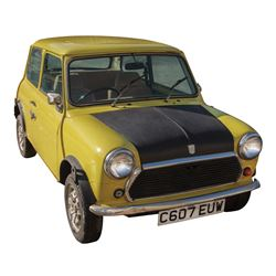 "Rowan Atkinson ""Mr. Bean"" British Leyland Mini 1000 from Bean."