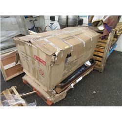 Skid of Assorted Furniture Parts & More