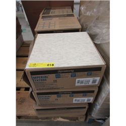 9 Cases of Armstrong Vinyl Floor Tile