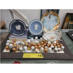 Wedgwood Jasperware, Thimble Collection & More