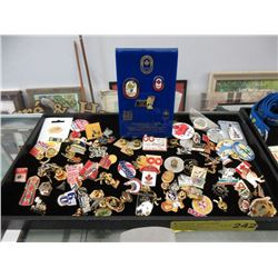 70+ Assorted Collector Pins