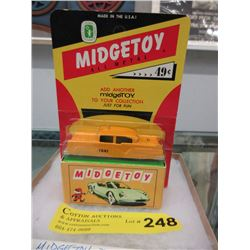 1950s Midge Toy Die-Cast Carded Taxi