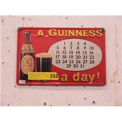 Metal Guinness Beer Sign