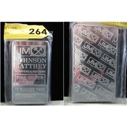 10 Oz. Johnson Matthey .999 Silver Bar