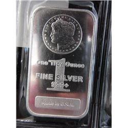 10 Mint Sealed1 Oz. Morgan .999 Silver Bars