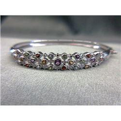 Diamond & Multi-Gemstone Bracelet