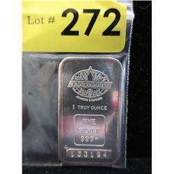 Rare1 Oz.Engelhard.999 Silver Bar
