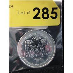 1 Oz.CDAThunderbird.9999 Silver Coin