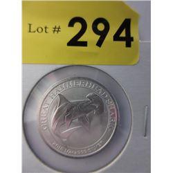 1/2 Oz. Perth Mint .999 Silver Coin