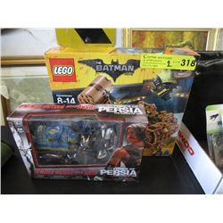 New Sealed Lego Set & Prince of Persia Figurine