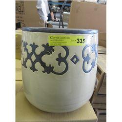 New 3 Piece Set of Ceramic Plant Pots