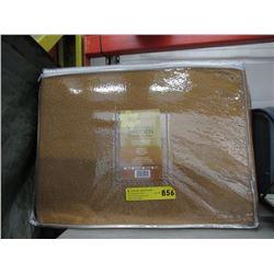 New Twin Size Brown Sheet Set