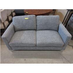 """New Fabric Upholstered 62"""" Love Seat"""