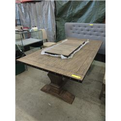 New Home Elegance Dining Table With Leaf