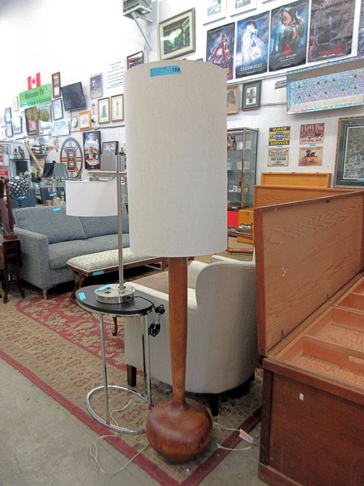 New 62 Tall Mid Century Style Wood Floor Lamp