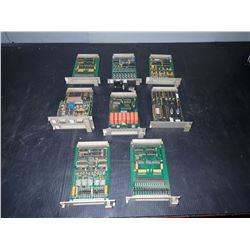 SIEMENS *LOT OF 8* CIRCUIT BOARDS *SEE PICS*