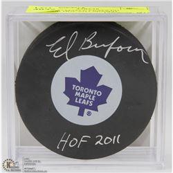 TORONTO MAPLE LEAFS ED BELFOUR HOF 2011 SIGNED