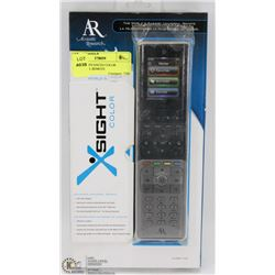 X SIGHT ADVANCED COLOR UNIVERSAL REMOTE