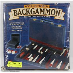 NEW SEALED BACKGAMMON GAME