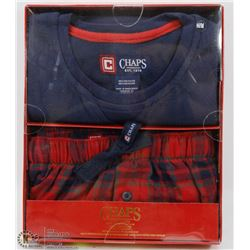 CHAPS MENS SLEEPWEAR SET SIZE MEDIUM