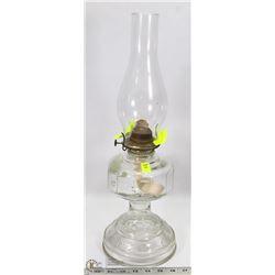 VINTAGE OIL LAMP (AS IS)