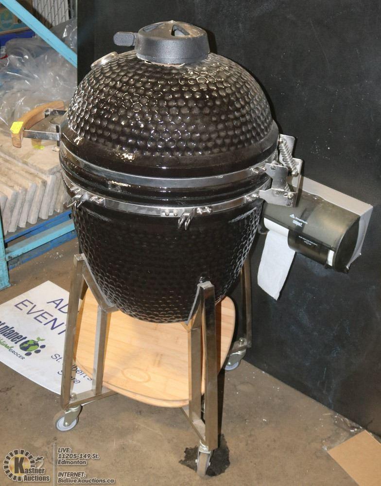 DAMAGED NEEDS REPAIR AS IS KOMODO BBQ