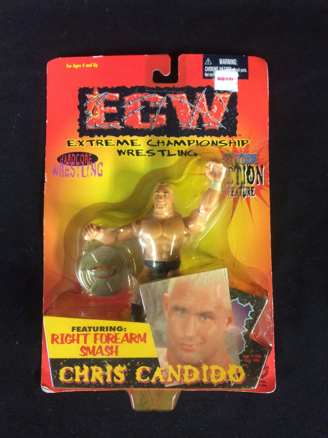 Ecw Wrestling San Fran Toy Makers Series Chris Candido Figure