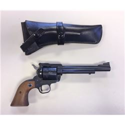 "Ruger Blackhawk SA revolver, .357 Mag w/ holster, 6"" bbl, s#30-07866"