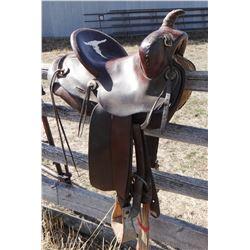 """Miller Saddle, Denver, CO, 13"""", single rig"""
